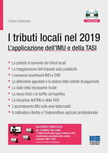 Book Cover: I tributi locali nel 2019