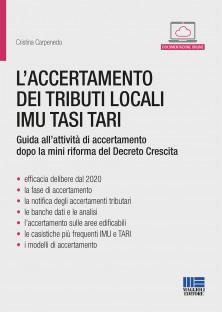 Book Cover: L'accertamento dei tributi locali IMU TASI TARI